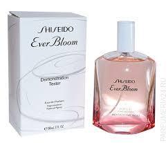 Тестер без крышечки духи женские Shiseido Ever Bloom ( Шисейдо Эвер Блум)