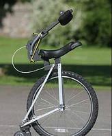 Физик представил транспорт будущего - одноколесный беспедальный велосипед