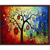 Картина по номерам Денежное дерево 40*50 Идейка (0230)