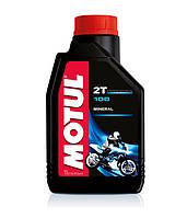 Минеральное масло для 2Т двигателей Motul 100 2T