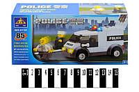 Детский конструктор Полиция. Джип 85 дет. (6732)
