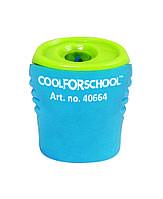 Чинка пластикова  з контейнером та кліпом Neon, 1 лезо, асорті