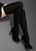 Роскошные черные чулки LuxLine HOLD-UPS 40