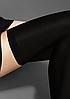 Роскошные черные чулки LuxLine HOLD-UPS 40, фото 4