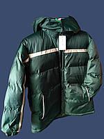 Детская зимняя куртка на синтепоне для мальчика, фото 1
