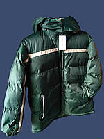 Детская зимняя куртка на синтепоне для мальчика