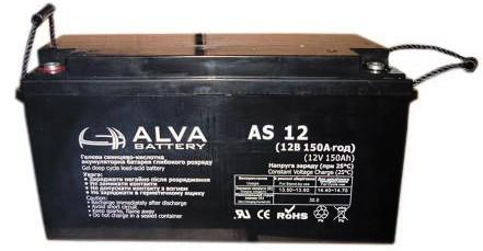 Аккумулятор AGM - 150 Ач 12В - ALVA AD12-150