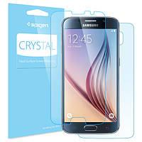 Защитная пленка SGP Crystal CR (2шт на экран+1шт на заднюю панель) для Samsung Galaxy S6 G920F/G920D