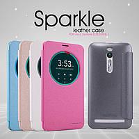 Кожаный чехол (книжка) Nillkin Sparkle Series для Asus Zenfone 2 (ZE551ML/ZE550ML)