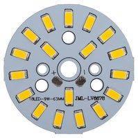 Плата со светодиодами 9 Вт (теплый белый, 1080 лм, 63 мм)