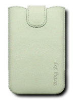 Кожаный футляр Mavis Classic (BJ) 119x66/130x68 для HTC 400/Samsung i8262