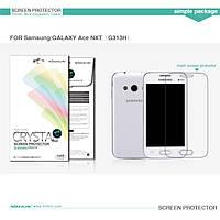Защитная пленка Nillkin Crystal для Samsung Galaxy Ace 4 G313H