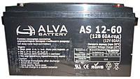 """Аккумулятор гелевый AGM (60Ач, 12В) """"ALVA AD12-60"""""""
