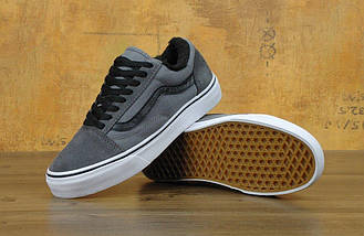 Зимние кеды Vans Old Skool с мехом, vans old school, ванс олд скул, фото 2