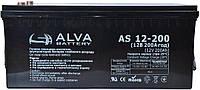 """Аккумулятор гелевый Solar-GEL (200Ач, 12В) """"ALVA AS12-200"""""""