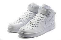 Кроссовки Nike Air Force 1 Premium High All White