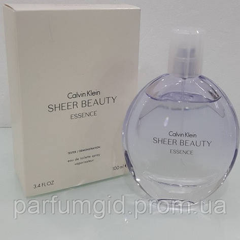 89afcbdbf4d58 Calvin Klein Sheer Beauty Essence EDT 100ml TESTER (ORIGINAL) (туалетная  вода Кельвин Кляйн Шер Бьюти Эссенс оригинал)