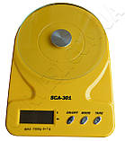 Ваги кухонні SCA-301 yellow, фото 2