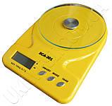 Ваги кухонні SCA-301 yellow, фото 4