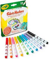 Crayola 10 фломастеров для рисования по ткани