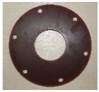 Прокладка гумова (чорна 170*64*8)