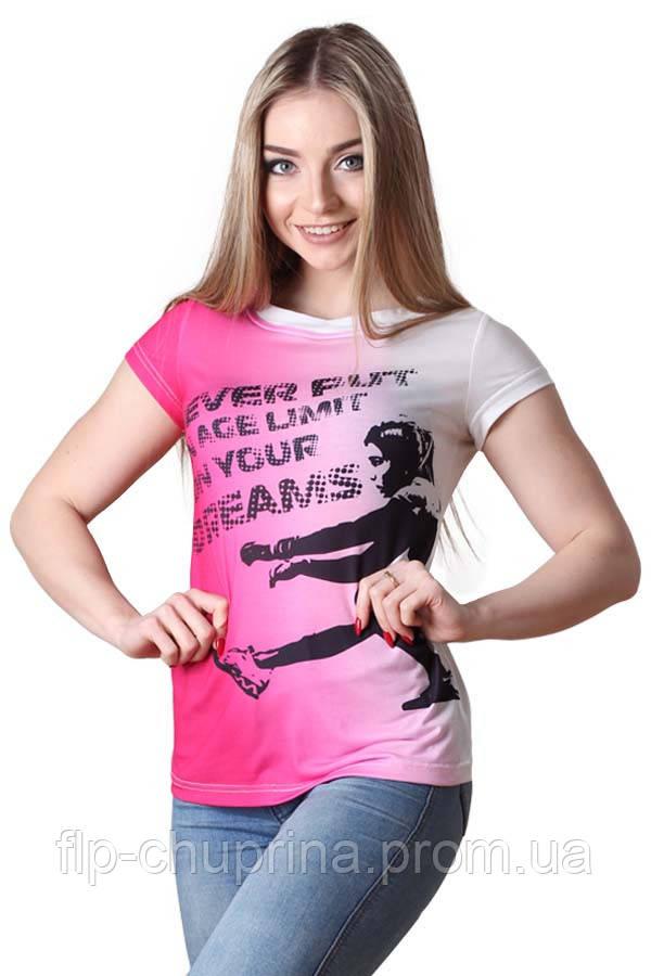 Футболка SQUATS pink