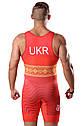 Трико для борьбы WRESTLER UKR red approved UWW, фото 4