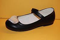 Детские туфли классические на девочку ТМ Шалунишка размеры 31, 33, 35