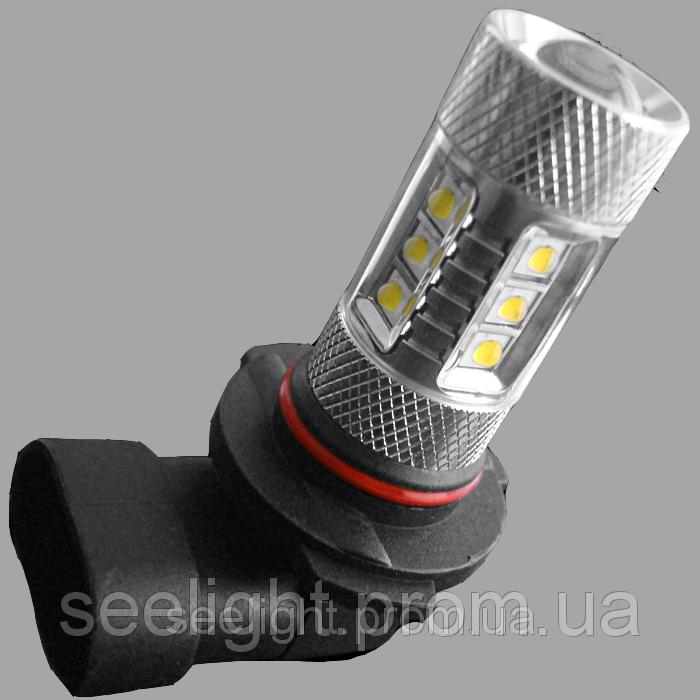 Автомобильная лампа с цоколем НB4(9006) Cree+Epistar 80W 9-30V 1000lm в противотуманные фонари