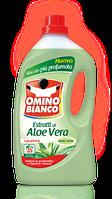 Стиральный порошок жидкий концентрированный Omino Bianco Aloe Vera 25 стирок 1,8 л., фото 1
