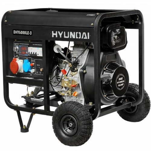 Трехфазный дизельный генератор DHY 6000LE-3