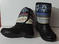 Сапоги женские зимние дутики (сноубутсы) на меху