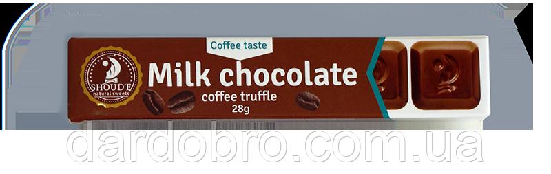 Шоколад  SHOUD'E Кофейный трюфель в молочном шоколаде 28 гр