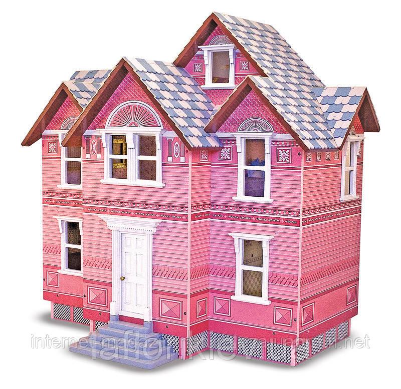 Викторианский кукольный домик ТМ Melissa&Doug