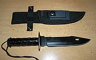 """Нож экстрим """"Рембо"""". Серия:для выживания. НАЗ (носимый аварийный запас), фото 1"""