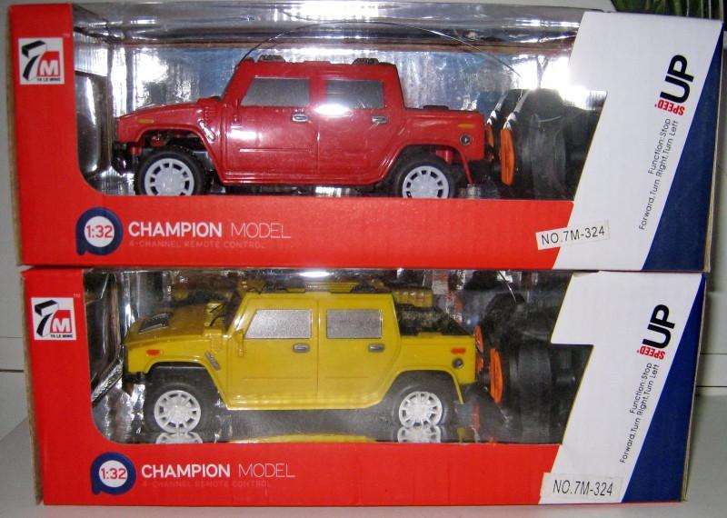 Champion model на радиоуправлении. Копия 1:32
