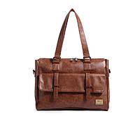 Мужская кожаная сумка. Модель 63223, фото 5