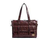 Мужская кожаная сумка. Модель 63223, фото 4