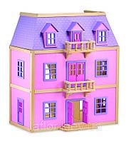 Домик для кукол Melissa&Doug Многоэтажный Деревянный домик