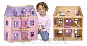 Домик для кукол Melissa&Doug Многоэтажный Деревянный домик, фото 2