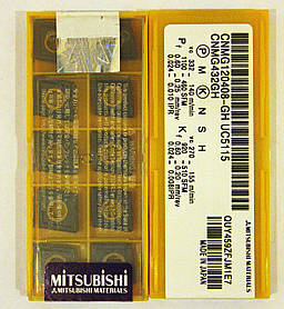 Пластина Mitsubishi CNMG 120408 GH UC5115