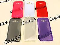 Силиконовый чехол Duotone для Samsung Galaxy J7 J700 (6 цветов)