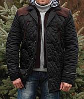 """Мужская куртка """" Ларго-2 богарт черный """""""