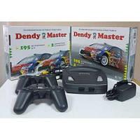 Игровая приставка днди dendy с встроенными 195 самыми популярными играми + можно вставлять картриджи