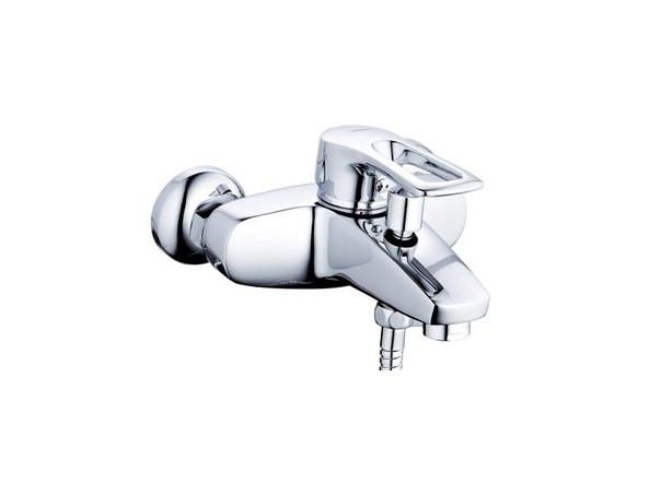 Смеситель для ванны матовый сатин Hansberg Hans ST-14-Y