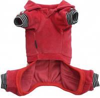 Спортивный костюм для собак L красный COPY