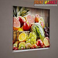 Фотошторы римские ягоды и фрукты 3D