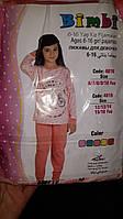 Теплая детская пижама интерлок