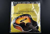 Бронзовые струны для акустической гитары Fender 60 XL, фото 1