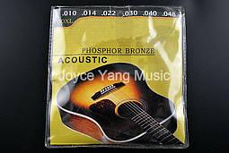 Бронзовые струны для акустической гитары Fender 60 XL
